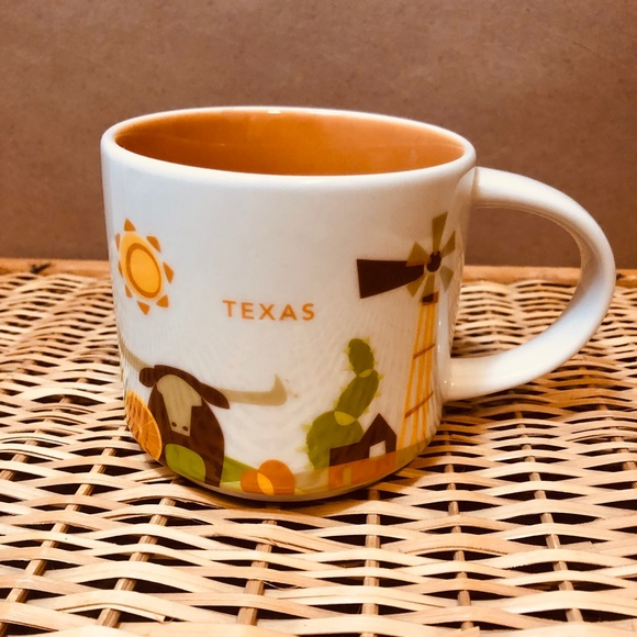 Starbucks Texas You Are Here Mug Limited Edition